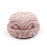 [웨이워드]WAYWARD - Nnit watch cap[Beige] 와치캡 챙없는 캡없는 모자 비니