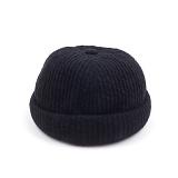 [웨이워드]WAYWARD - Nnit watch cap[Black] 와치캡 챙없는 캡없는 모자 비니