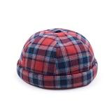 [웨이워드]WAYWARD - Check watch cap[Red] 와치캡 챙없는 캡없는 모자 비니