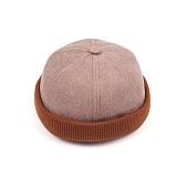 [웨이워드]WAYWARD - Two-tone watch cap[Brown] 와치캡 챙없는 캡없는 모자 비니