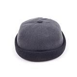 [웨이워드]WAYWARD - Two-tone watch cap[Gray] 와치캡 챙없는 캡없는 모자 비니