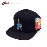 [웨이워드]WAYWARD - [THE SIMPSONS] Dad and son Simpsons[Black] 심슨 스냅백 모자