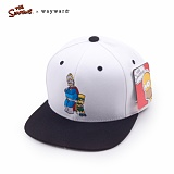 [웨이워드]WAYWARD - [THE SIMPSONS] Dad and son Simpsons[White] 심슨 스냅백 모자