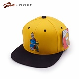 [웨이워드]WAYWARD - [THE SIMPSONS] Dad and son Simpsons[Yellow] 심슨 스냅백 모자