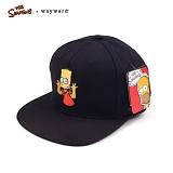 [웨이워드]WAYWARD - [THE SIMPSONS] Tease-ya Simpsons[Black] 심슨 스냅백 모자