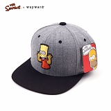 [웨이워드]WAYWARD - [THE SIMPSONS] Tease-ya Simpsons[Gray] 심슨 스냅백 모자