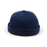 [웨이워드]WAYWARD - Pigment watcher cap[Navy] 와치캡 챙없는 캡없는 모자 비니