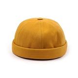 [웨이워드]WAYWARD - Pigment watcher cap[Mustard] 와치캡 챙없는 캡없는 모자 비니
