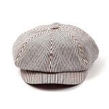 [웨이워드]WAYWARD - NEWS Boy cap Stripe[White] 뉴스보이캡 베레모 빵모자