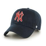 47Brand - MLB모자 뉴욕 양키즈 빈티지 레드로고 볼캡 야구모자