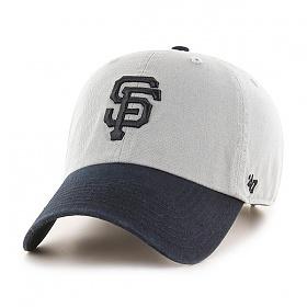 47브랜드 - MLB모자 자이언츠 그레이네이비 멀티 볼캡 야구모자