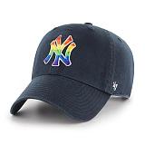 47Brand - MLB모자 뉴욕 양키즈 빈티지 레인보우로고 볼캡 야구모자