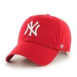 47Brand - MLB모자 뉴욕 양키즈 레드 볼캡 야구모자
