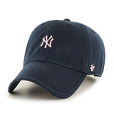 47Brand - MLB모자 뉴욕 양키즈 미니핑크로고 볼캡 야구모자
