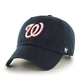 47Brand - MLB모자 워싱턴 내셔널스 네이비 화이트로고 볼캡 야구모자