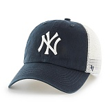 47Brand - MLB모자 뉴욕 양키즈 네이비 메쉬 볼캡 야구모자