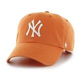 47Brand - MLB모자 뉴욕 양키즈 망고 화이트로고 볼캡 야구모자