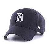 47Brand - MLB모자 디트로이트 타이거스 네이비 스트럭처 볼캡 야구모자
