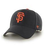 47Brand - MLB모자 샌프란시스코 자이언츠 블랙 스트럭처 볼캡 야구모자