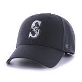 47Brand - MLB모자 시애틀 매리너스 네이비 스트럭처 볼캡 야구모자
