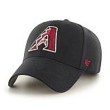 47Brand - MLB모자 애리조나 다이아몬드백스 블랙 스트럭처 볼캡 야구모자