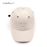 [커스텀루틴7]CUSTOMROUTINE7 - Corduroy seven (Ivory) 볼캡 모자