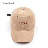 [커스텀루틴7]CUSTOMROUTINE7 - Corduroy seven (Brown) 볼캡 모자