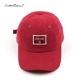 [커스텀루틴7]CUSTOMROUTINE7 - Tartan custom (Red) 볼캡 모자