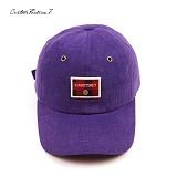 [커스텀루틴7]CUSTOMROUTINE7 - Tartan custom (Purple) 볼캡 모자