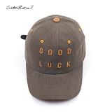 [커스텀루틴7]CUSTOMROUTINE7 - Goodluck (Khaki) 볼캡 모자