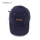 [블프특가][커스텀루틴7]CUSTOMROUTINE7 - Corduroy ROUTINE (Navy) 코듀로이 골덴 볼캡 모자