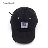 [커스텀루틴7]CUSTOMROUTINE7 - Melton squareCR (Gray) 볼캡 모자