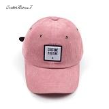 [커스텀루틴7]CUSTOMROUTINE7 - Corduroy squareCR (Pink) 볼캡 모자