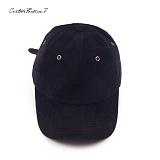 [커스텀루틴7]CUSTOMROUTINE7 - Basic Corduroy ball cap (Black) 코듀로이 골덴 볼캡 모자