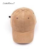 [커스텀루틴7]CUSTOMROUTINE7 - Basic Corduroy ball cap (Beige) 코듀로이 골덴 볼캡 모자
