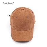 [블프특가][커스텀루틴7]CUSTOMROUTINE7 - Basic Corduroy ball cap (Brown) 코듀로이 골덴 볼캡 모자