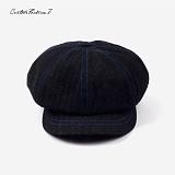 [커스텀루틴7]CUSTOMROUTINE7 - Newsboycap (Black) 뉴스보이캡 베레모 빵모자