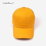 [커스텀루틴7]CUSTOMROUTINE7 - Basic ball cap (Mustard) 볼캡 모자