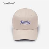 [커스텀루틴7]CUSTOMROUTINE7 - GoodOne (Beige) 볼캡 모자