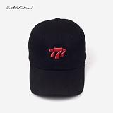 [커스텀루틴7]CUSTOMROUTINE7 - Triple7 (Black) 볼캡 모자