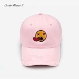[커스텀루틴7]CUSTOMROUTINE7 - Fuxx smile (Pink) 볼캡 모자