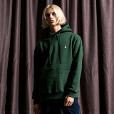 [레이든]LAYDEN BASIC PULLOVER HOODIE-HUNTER GREEN 후드 후디