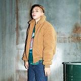 [깅엄버스]GINGHAMBUS - Teddy Bomber Jacket(2color)(unisex) 테디 봄버 재킷 양털 보아 후리스 항공자켓