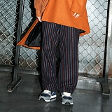 [깅엄버스]GINGHAMBUS - Pin Stripe Wool Wide Pants(3color)(unisex) 스트라이프 울 팬츠