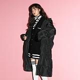 [깅엄버스]GINGHAMBUS - G.School Long Padding Coat(unisex) G.스쿨 롱 패딩 코트