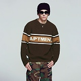 [아파트먼트]Triple Apartment  Knit - Brown 니트