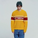[아파트먼트]Triple Apartment  Knit - Mustard 니트