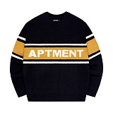 [아파트먼트]Triple Apartment  Knit - Navy&Mustard 니트
