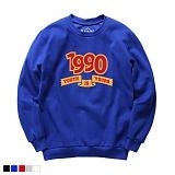 뉴해빗 - 1990 youth - 7S-7016 - 나염맨투맨