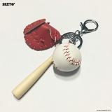 SEXTO - 야구(BASEBALL)RED 키링 가방장식